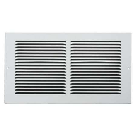"Return Air Grille, 6x14"", White"