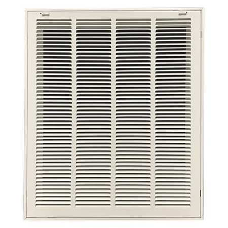 "Filtered Return Air Grille, 25x20"", White"