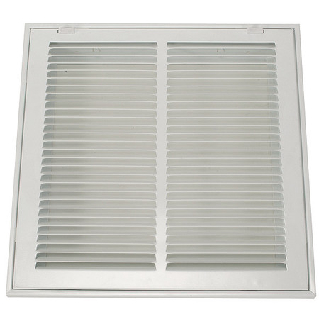 "Filtered Return Air Grille, 12x12"", White"