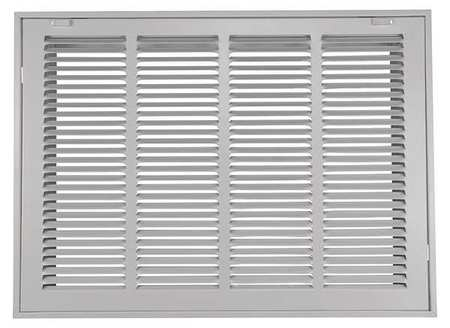 "Filtered Return Air Grille, 12x24"", White"