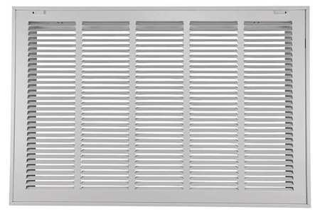 "Filtered Return Air Grille, 20x25"", White"