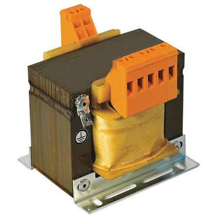 Transformer, In 240/480V, Out 24V, 75VA
