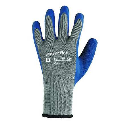Cut Resistant Gloves, L, Blue/Gray, PR