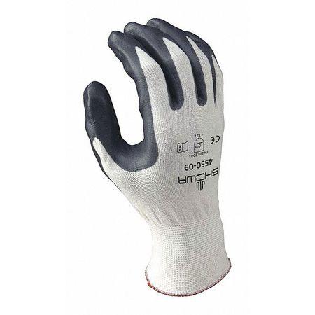 Coated Gloves, M, Gray/White, PR