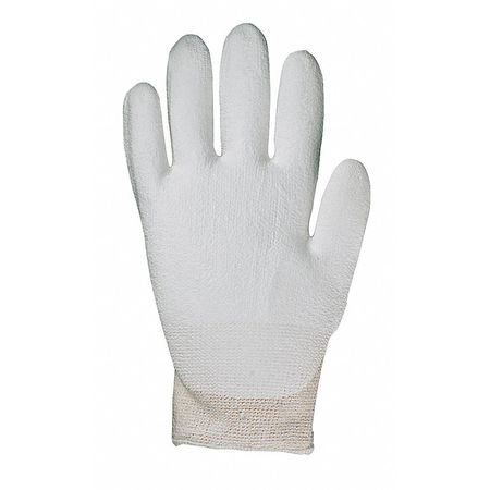 Cut Resistant Gloves, White, S, PR