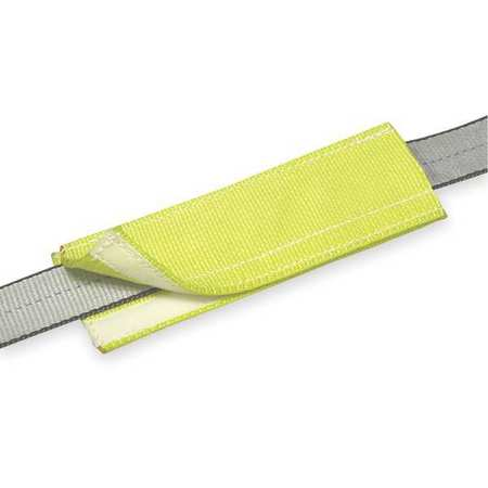 Wear Pad, 6 In X 12 In, Yellow
