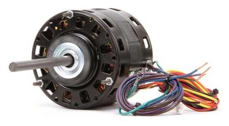 Motor, PSC, 1/5 HP, 1075 RPM, 230V, 42Y, OAO