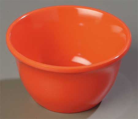 Bouillon Cup,  7-1/2 oz.,  Melamine Sunset Orange PK48