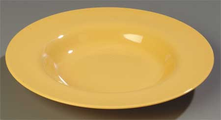 Dinner Bowl,  4.2 oz.,  Melamine Honey Yellow PK48