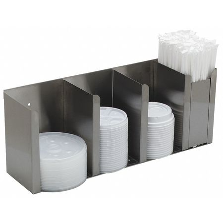 4 Station Cup and Lid Dispenser