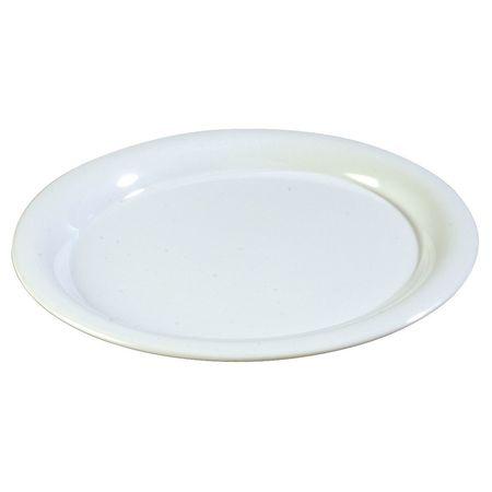"Round Salad Plate,  7-1/4"",  Melamine,  White PK48"