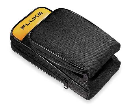 Soft Carrying Case, 2-1/2x5-1/2x10, Blk/Yl