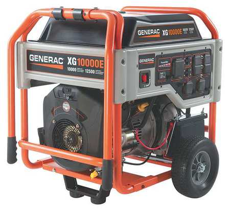 10000W Gas Portable Generator 120/240VAC Electric