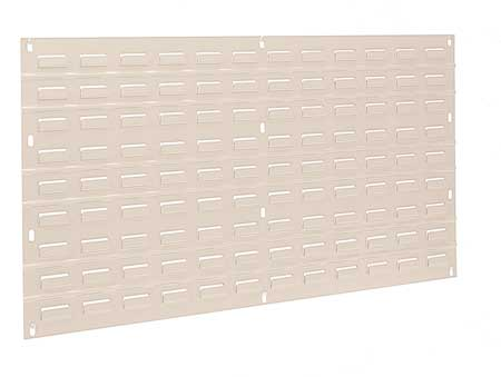 Louvered Panel, 35-3/4 x 5/16 x 19 In
