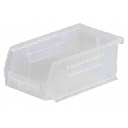 Hang/Stack Bin, 7-3/8 x 4-1/8 x 3, Clear