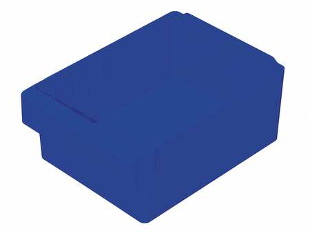 Drawer Bin, 11-5/8 x 8-3/8 x 4-5/8In, Blue