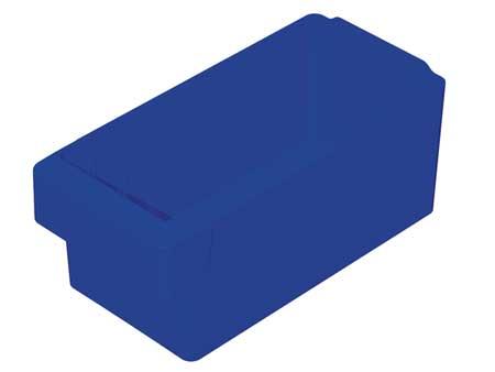 Drawer Bin, 11-5/8 x 5-5/8 x 4-5/8In, Blue