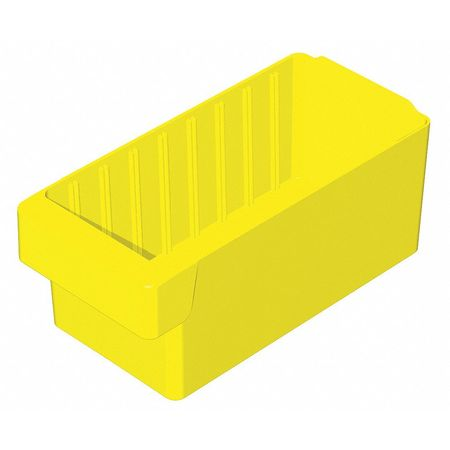Drawer Bin, 11-5/8x5-5/8x4-5/8 In, Yellow