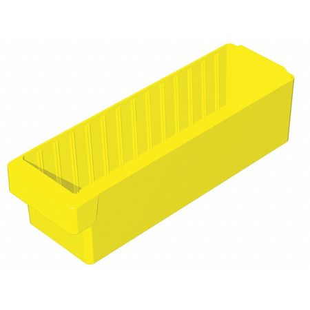 Drawer Bin, 17-5/8x5-5/8x4-5/8 In, Yellow