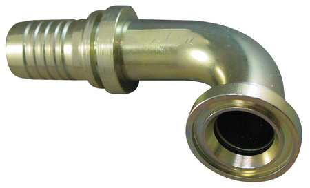 "Flange Fitting, Barbed, 2"" Hose, 2""Flange"