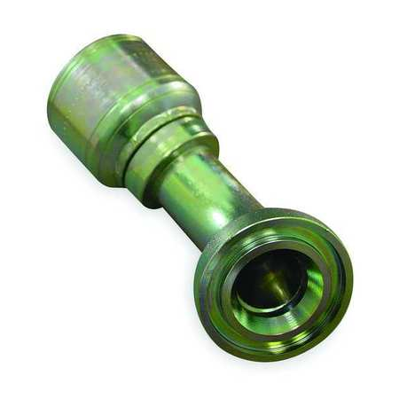 "Flange Fitting, Crimp, 1"" Hose, 1""Flange"