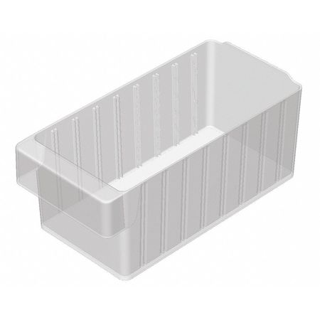 Drawer Bin, 11-5/8x5-5/8x4-5/8 In, Clear
