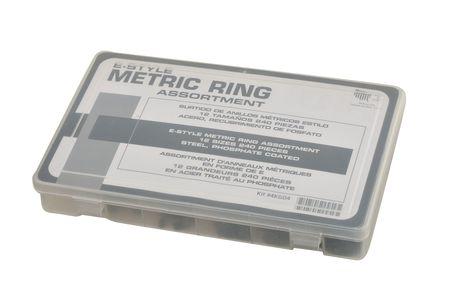 E-Style Ring Asst, 240 Pcs, 12 Szs