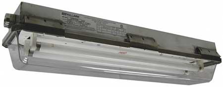 Fixture, Fluorescent, Hazardous, F17T8