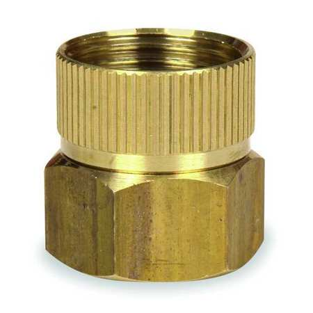 Hose To Pipe Adapter, Swivel, Dbl Female