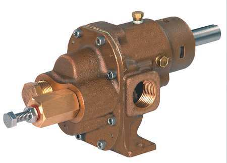 Rotary Gear Pump Head, 1 1/4 In., 1 1/2 HP