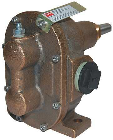 Rotary Gear Pump Head,  1/4 In.,  1/6 HP