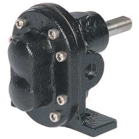 Rotary Gear Pump Head,  1/2 In.,  1/3 HP
