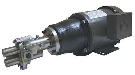 Rotary Gear Pump,  316 SS,  1 1/2 HP,  3 Ph