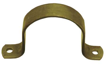 HD Pipe Strap, Steel, 1/2 In, 4 1/8 In L