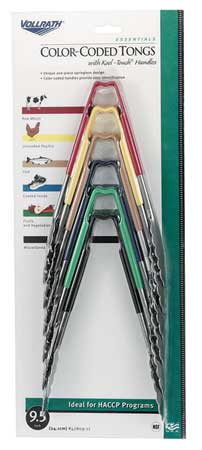 Utility Tong,  Multi-Colored Set