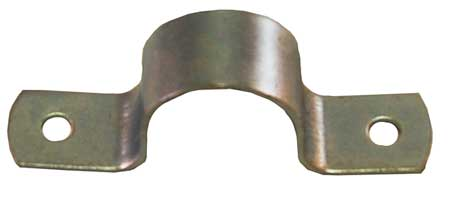 HD Pipe Strap, Zinc Plated, 4In, 8 13/16InL