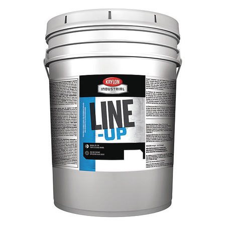 Athletic Striping Paint, Bright Wht, 5 gal