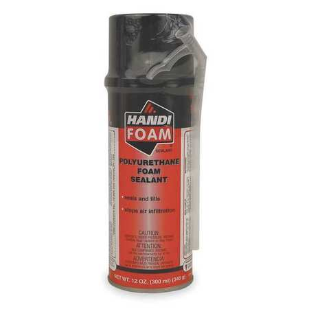 Straw Foam Sealant, 12 oz, Black