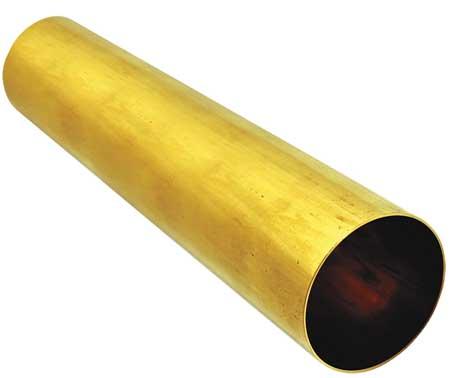 Liner, Dia 2 In, Length 12 In, Brass