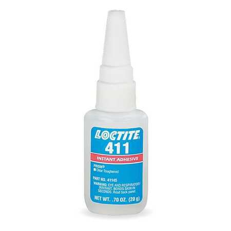 Instant Adhesive, 20g Bottle, Clear