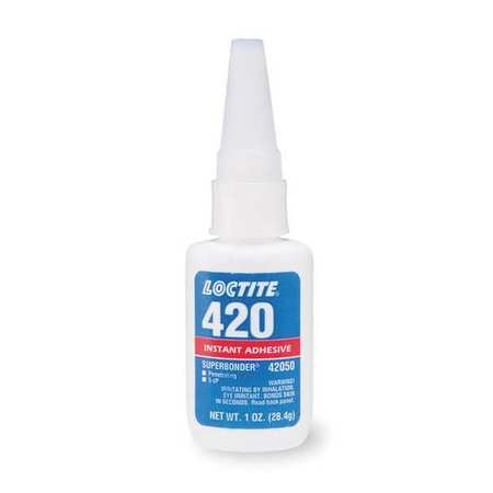 Instant Adhesive, 1 oz. Bottle, Clear