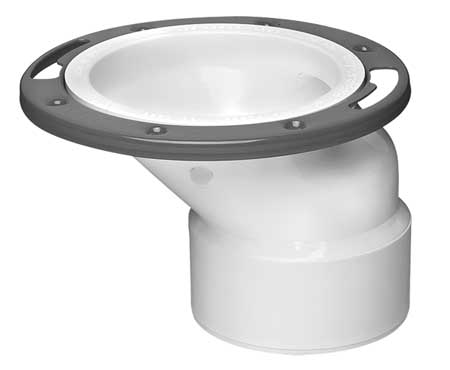 Toilet Flange, Floor, Offset