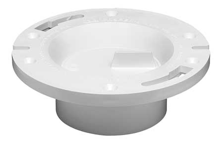Toilet Flange, Floor, 2 Slot 2 Slide