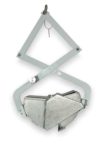 Bottom Dredge, 25 Pound, Stainless Steel