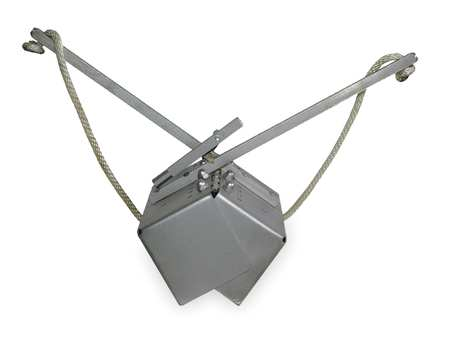 Sand/Silt Dredge, 5 Pound, Stainless Steel