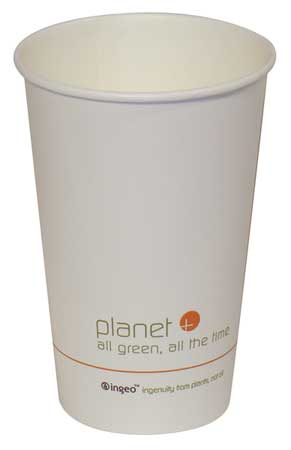 Disposable Hot cup 16 oz. White,  Paper,  Pk500