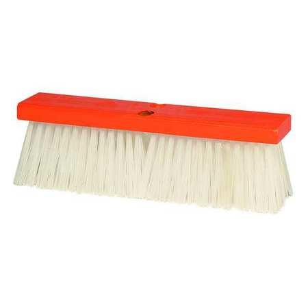 TOUGH GUY White Polypropylene Medium Sweeping Push Broom