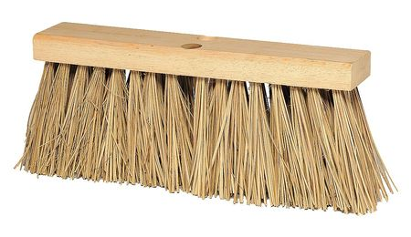 TOUGH GUY Brown Palmyra Medium Sweeping Push Broom