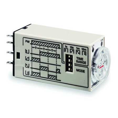 Time Delay Relay, 24VAC, 5A, DPDT