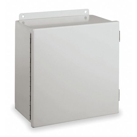 Junc Box Encl, Mtlc, 14In.Hx 12In.Wx6In.D